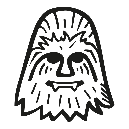 Chewbacca Icon Free Of Space