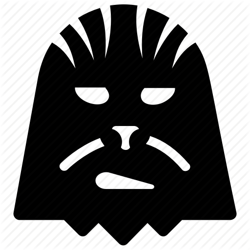 Avatar, Chewbacca, Mask, Monster, Star Wars Icon
