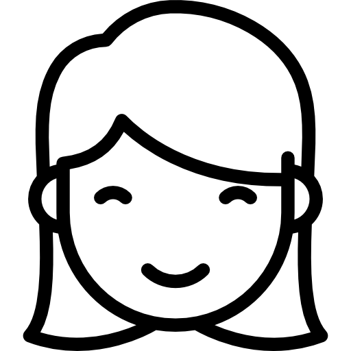 Smiling Girl Icons Free Download