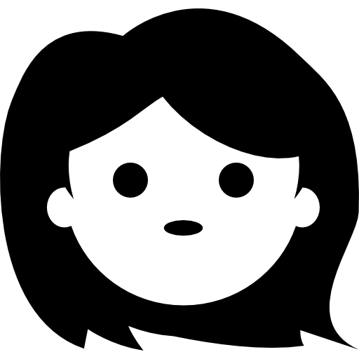 Girl Face Free Vector Icons Designed