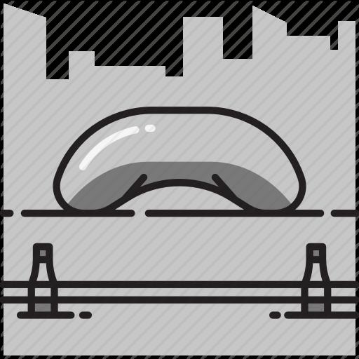 Chicago, Cloud, Cloud Gate, Gate, Illinois, Sculpture Icon
