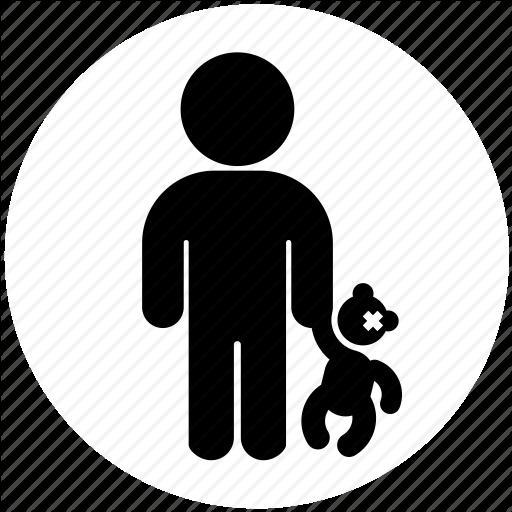 Child, Medicine, Paediatrics, Person, Teddybear Icon