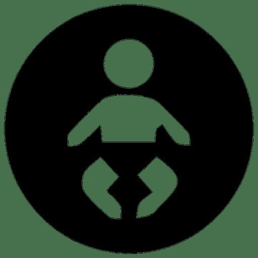 Round Children Icon
