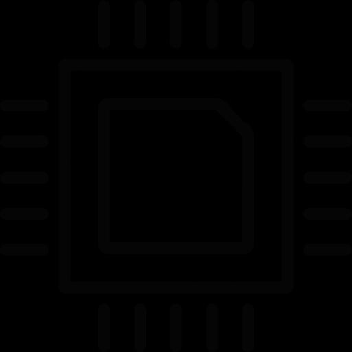 Download Chip,cpu,microchip,processor Icon Inventicons