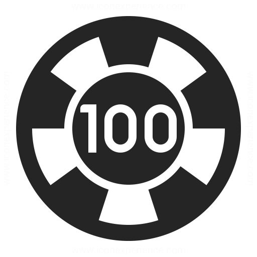 Gambling Chip Icon Iconexperience