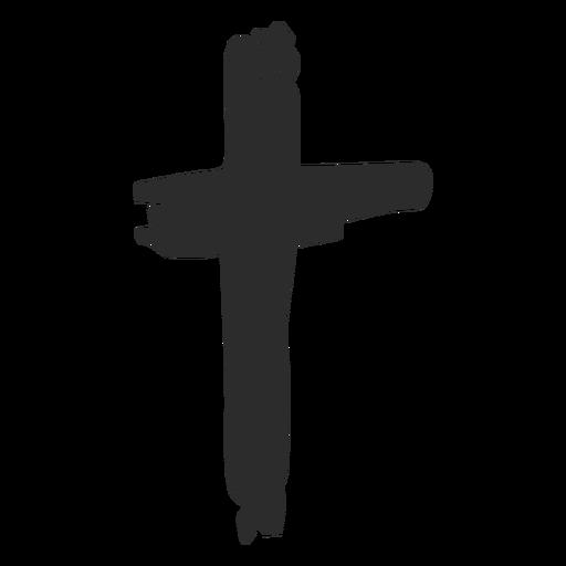 Cross Scribble Icon