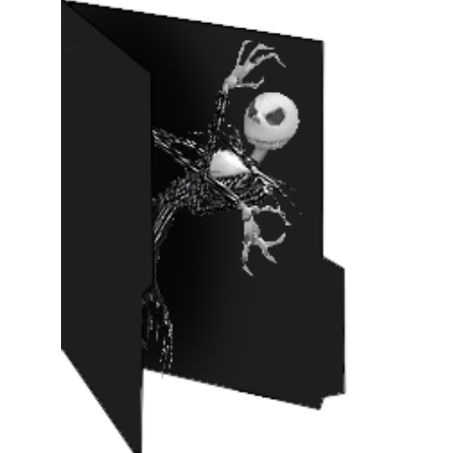 Jack Skellington Windows Folder