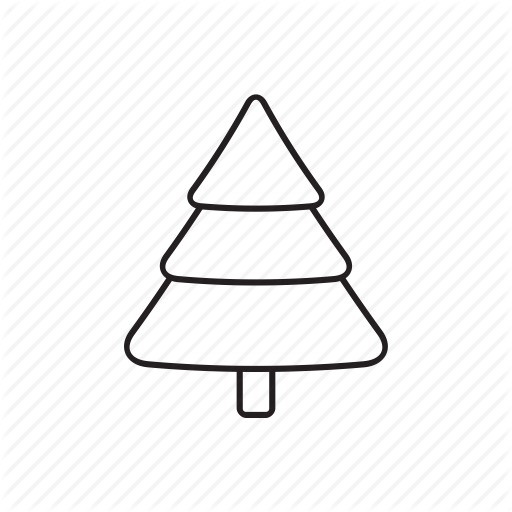 And, Christmas, Christmas Tree, Elements, Pack, White Icon