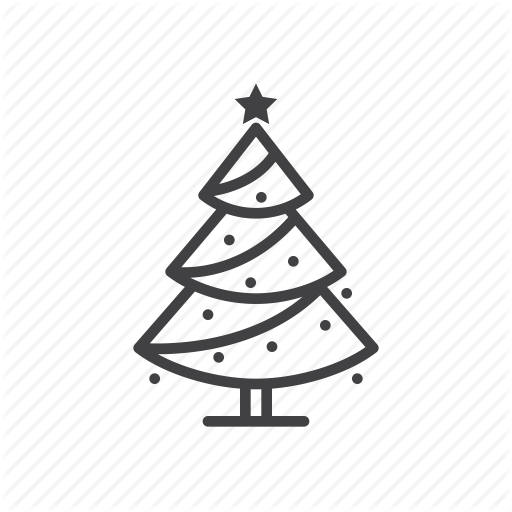 Christmas, Fir, Pine, Spruce, Tree Icon