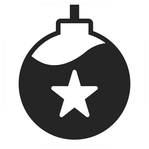 Christmas Ball Icon Iconexperience