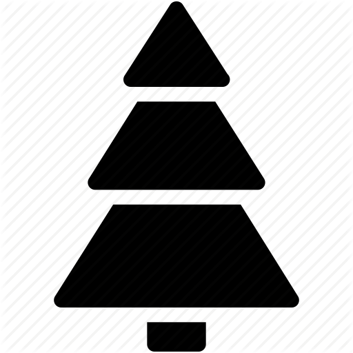 Christmas, Christmas Tree, Creative, Decoration, Grid, Shape, Snow