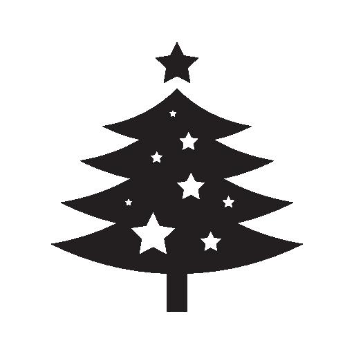 Beautiful Christmas Tree Icon Free Icons Download