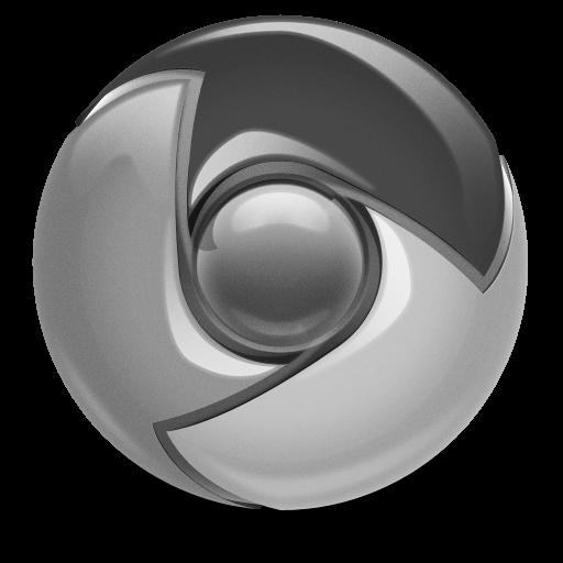 Grey Google Chrome Icon