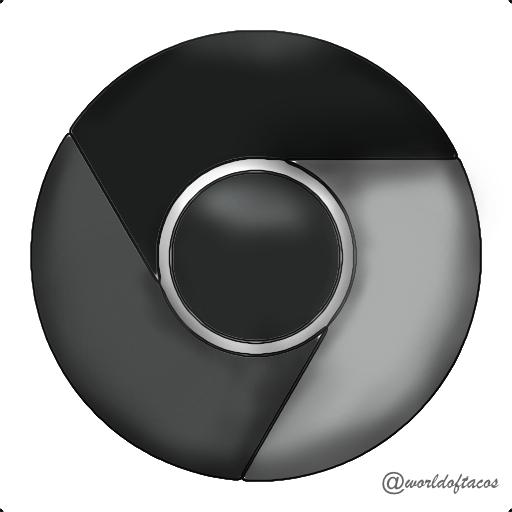 Pictures Of Chrome Icon White