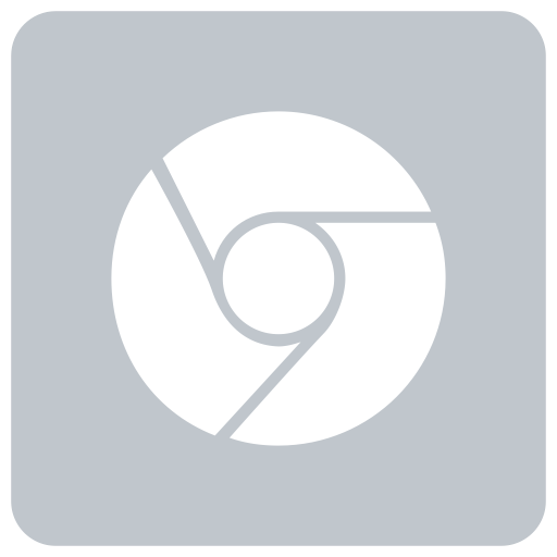 Social Media Chrome Glyph Icon