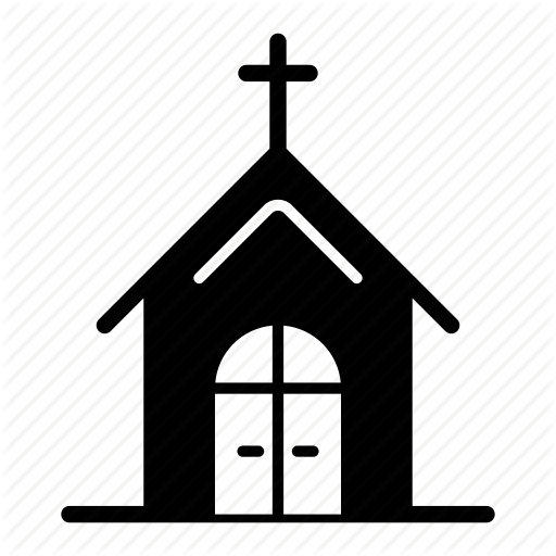 Church, Location, Map, Place, Position, Spot Icon