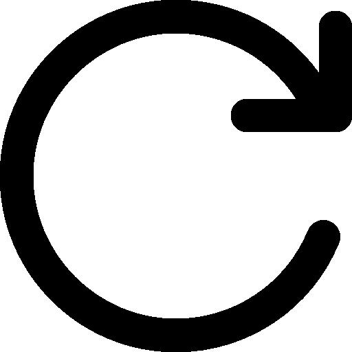 Clockwise Rotating Circular Arrow Icons Free Download