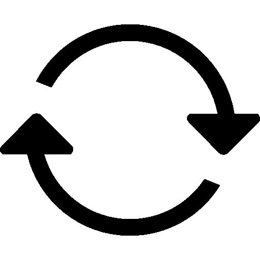 Two Circular Arrows