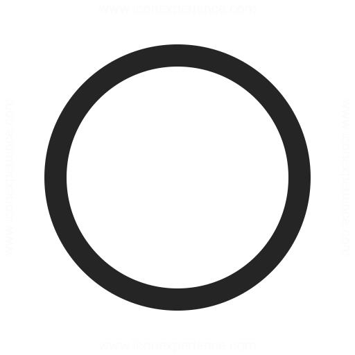 Shape Circle Icon Iconexperience