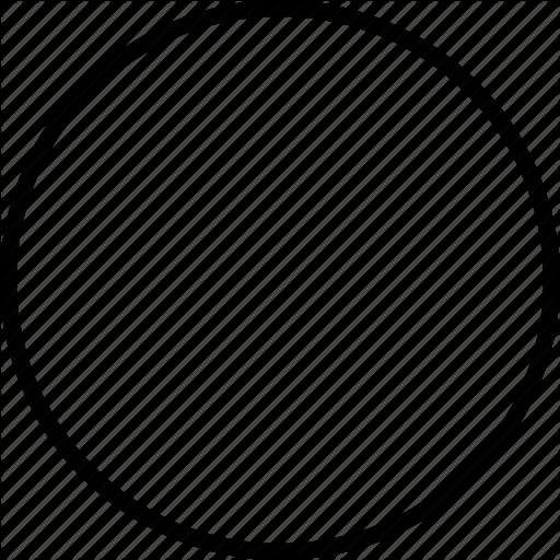 Circle, Circle Outline, Round, Shape Icon