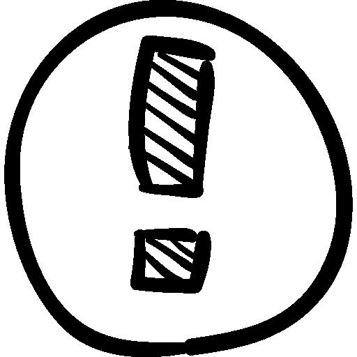 Drawn Circle Icon