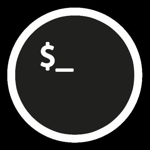 App Terminal Icon The Circle Iconset Xenatt