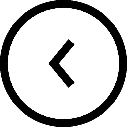 Back Button Circle