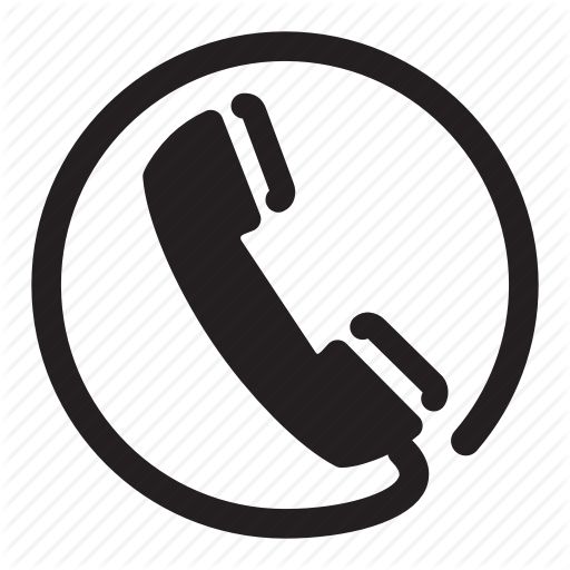 Circle, Headset, Phone, Retro, Wire Icon