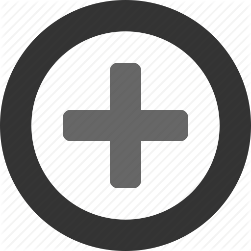 Circle With Plus Icon