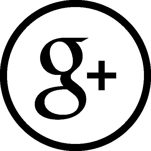 Google Plus Circular Button
