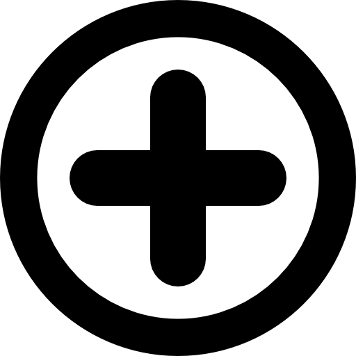 Plus Sign In A Circle Icons Free Download