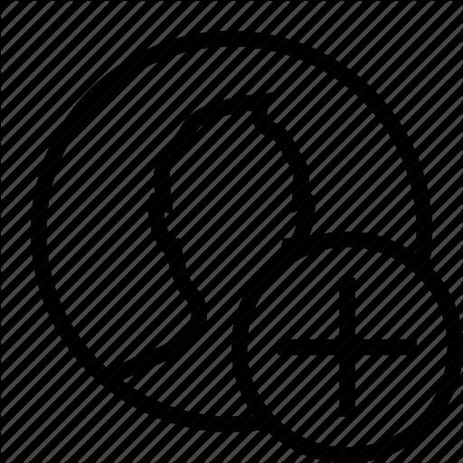 Add, Circle, Increase, Man, Plus, Profile, User Icon