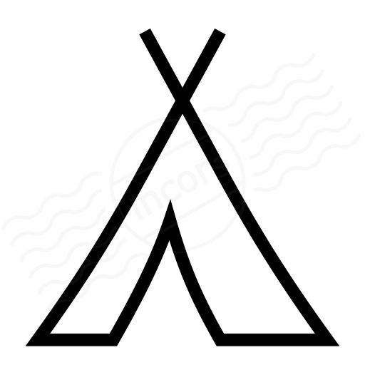 Iconexperience I Collection Tent Icon