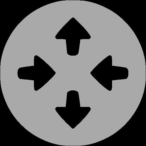 Dark Gray Router Icon