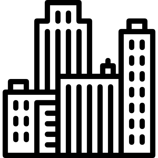 Skyscrapers, Cityscape, Architecture And City, Town, Buildings