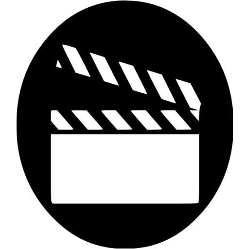 Black Video Icon