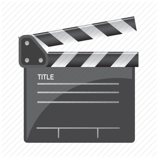 Action, Check, Clapboard, Movie, Title Icon