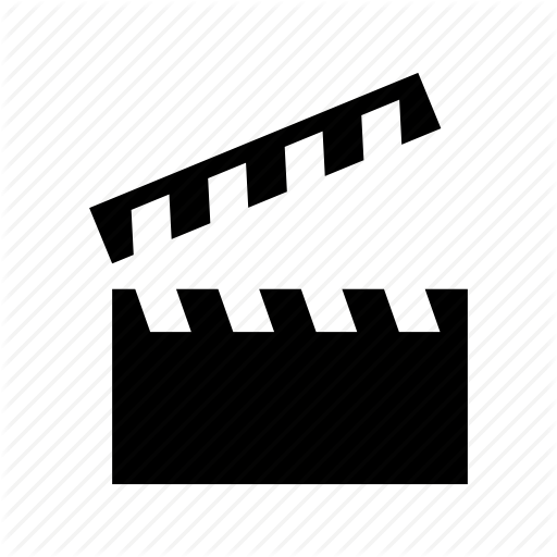 Cinematography, Clapboard, Clapper Icon