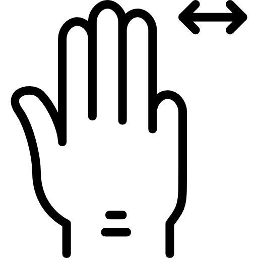 Drag Icon Hand And Gestures Set Smashicons