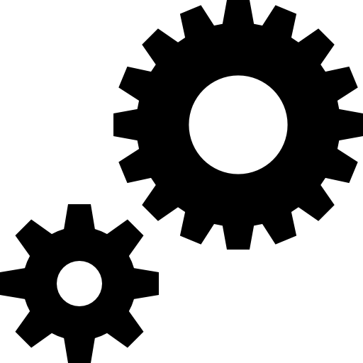 Cogs Vector Coloured Transparent Png Clipart Free Download