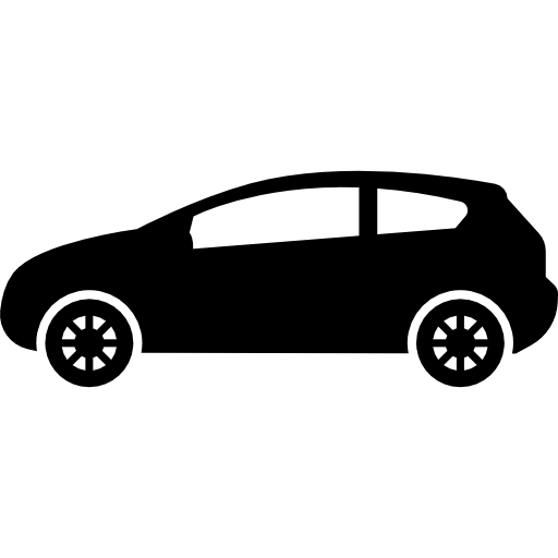 Car Of Hatchback Model Icons Free Download