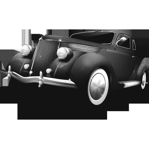 Grey Car Icon