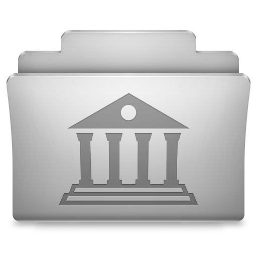 Library Classic Icon