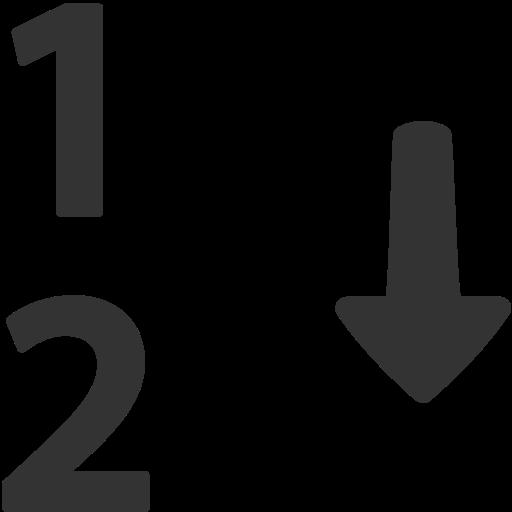 Numeric, The Classification Icon Free Of Windows Icon