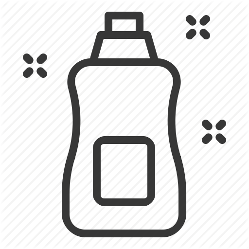 Bottle, Cleaning, Cleaning Agent, Cleaning Supply, Stain Remover Icon