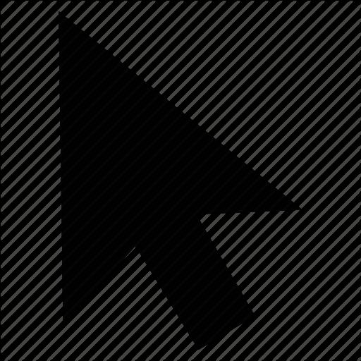 Arrow, Click, Cursor, Direction, Mouse Arrow, Pointer, Up Arrow Icon