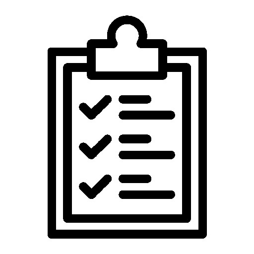 Clipboard Checklist List Id Sign Logistic Pen Tick Delivery Png
