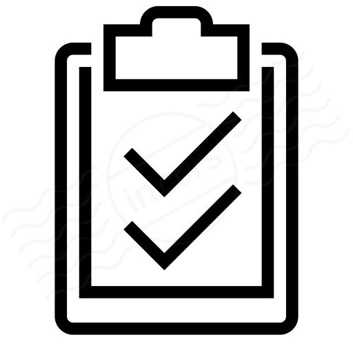 Iconexperience I Collection Clipboard Checks Icon