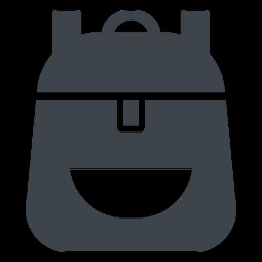 School Backpack Flat Icon