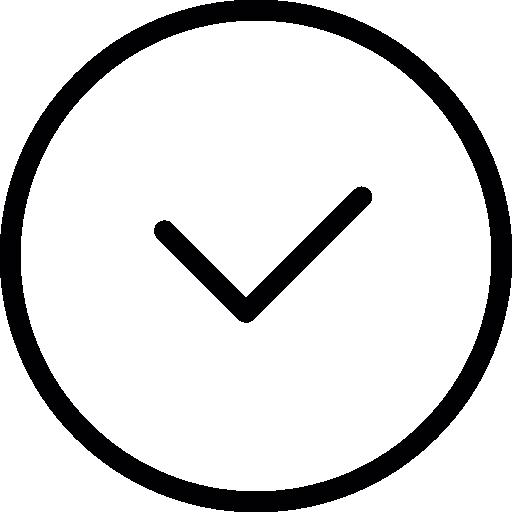 Clock Thin Line